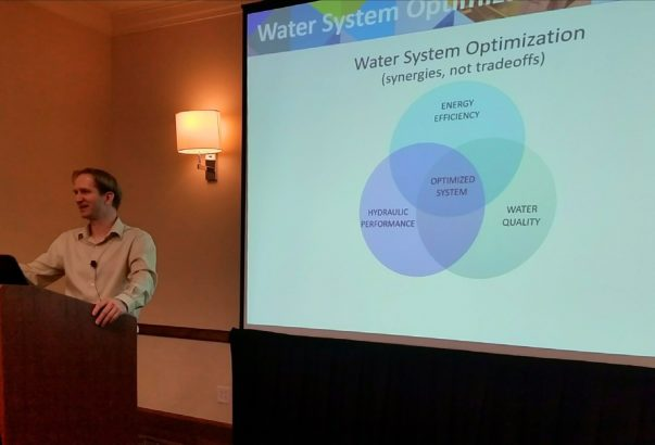 Jones and Sowby present at two AWWA conferences