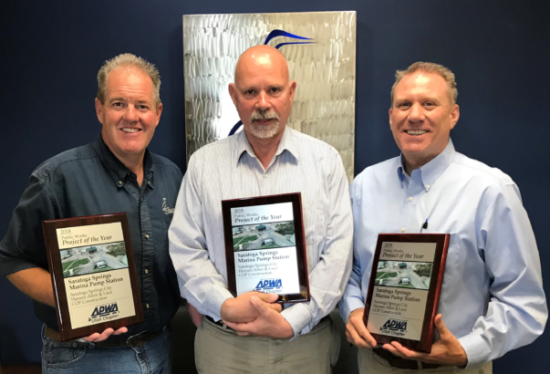 Marina Pump Station receives another Project of the Year award