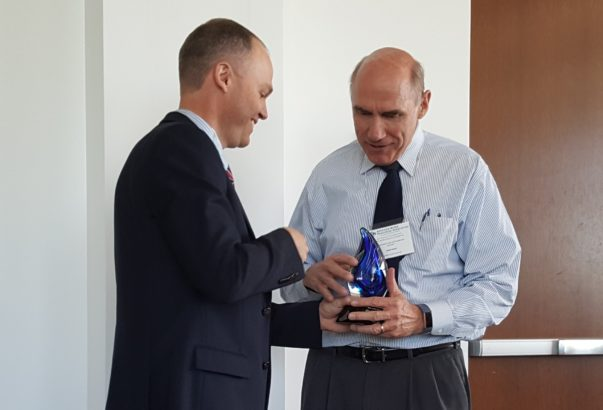 Poole receives AWRA award for outstanding service
