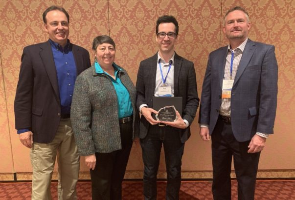 AWWA Intermountain Section recognizes Sowby as Young Professional of the Year