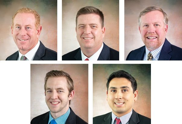 HAL welcomes five new faces to the team