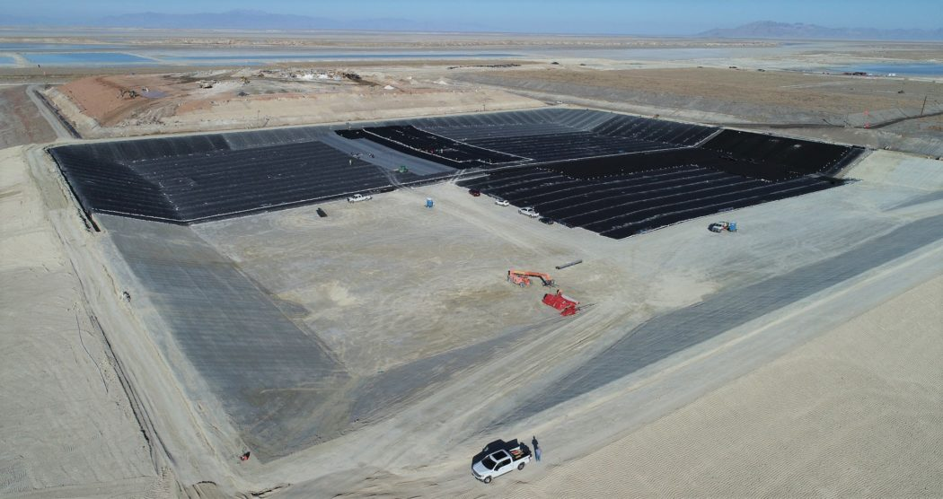 HAL oversees construction of new hazardous waste landfill