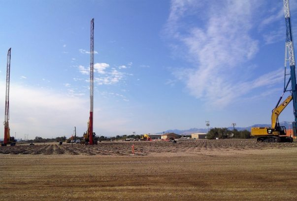 Construction proceeds at Salt Lake City Water Reclamation Facility